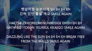 Smile Again (KOR V) - WINNER (Team A) [Han,Rom,Eng] Lyrics