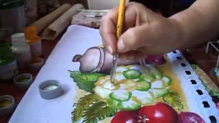 Pintura da Couve flor