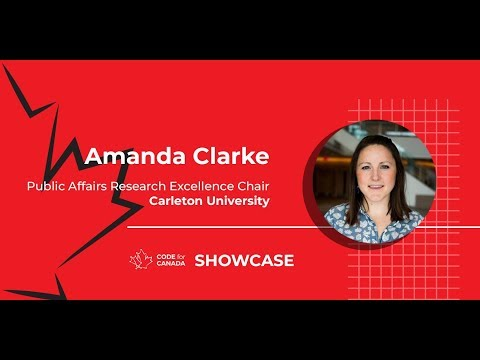 Code for Canada Showcase 2019 Lightning Talks: Amanda Clarke (Ottawa)