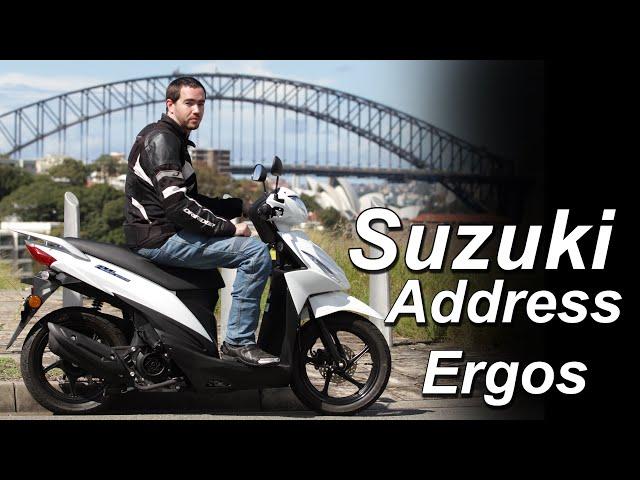 2021 Suzuki Address 110 Ergonomics & Rider Fit