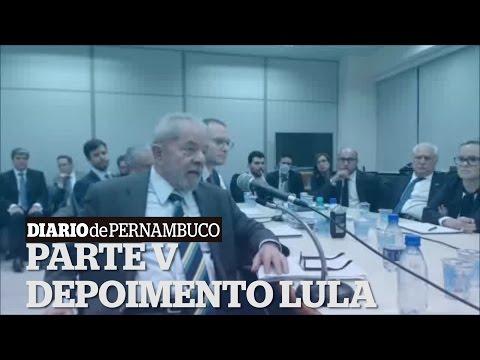 Confira trecho do depoimento de Lula na operação Lava-Jato