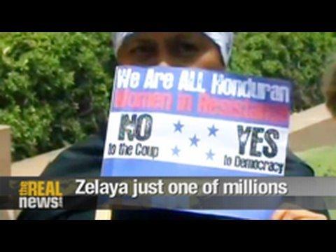 Zelaya just one of millions