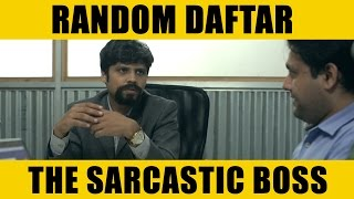 Random Daftar - The Sarcastic Boss LaughterGames