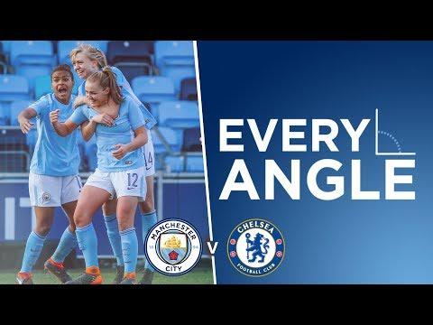 GOAL OF THE SEASON?!   City v Chelsea   FA WSL 1   Georgia Stanway