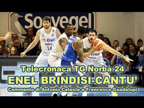 Enel Basket Brindisi-Cantù 86-68 (Telecronaca TGNorba 24 )