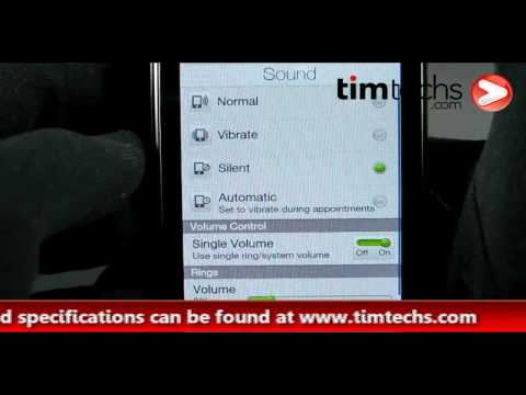 HTC Touch Diamond2 Video Review | TIMTECHS.COM