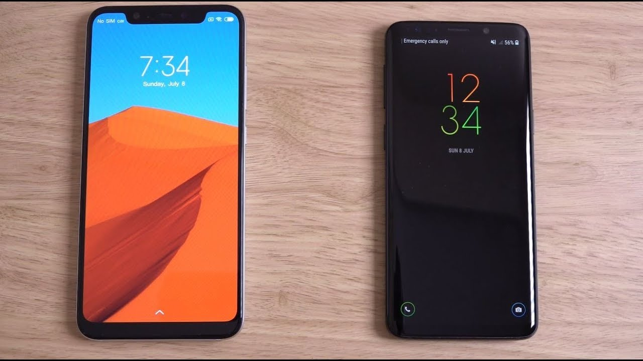 5c9dd0aaaf7f Xiaomi Mi8 vs Samsung Galaxy S9 - Speed Test! - YouTube