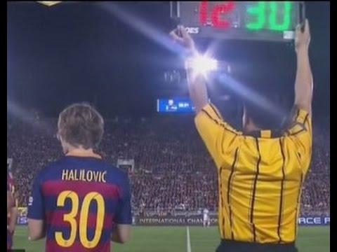 Barcelona's Messi new Halilovic
