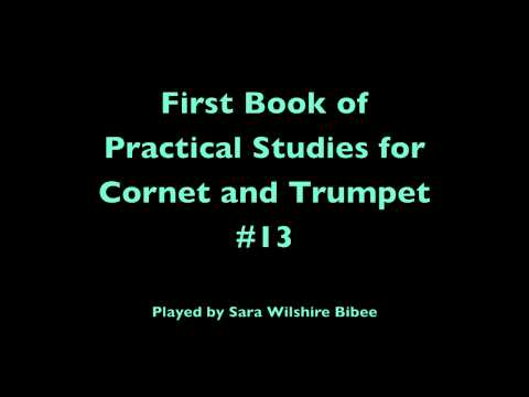 Getchell Hovey First Book of Practical Studies for Cornet or Trumpet #13