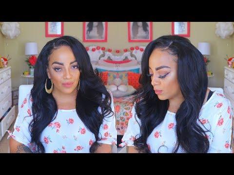 CUTE BUDGET HAIR  HOW TO WERK THAT CHEAP HAIR cynosure hair aliexpress Review & Install