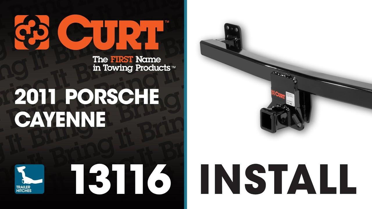 Trailer Hitch Install Curt On A Porsche