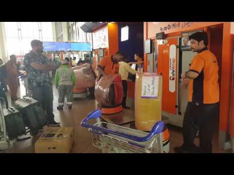 Safewrap luggage service in Dammam Airport