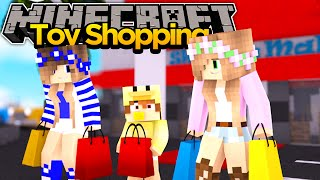 MINECRAFT ADVENTURE- LITTLE KELLY & LITTLE CARLY TAKE BABY DUCK OUT!!