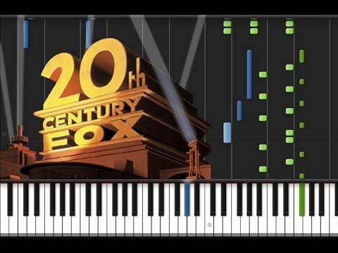 20th Century Fox - Main Theme [Piano Tutorial] (♫)