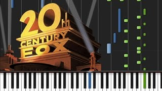 20th century fox main theme piano tutorial ♫