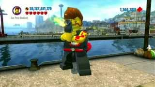 Lego City Undercover - The 100% Cheat Is...