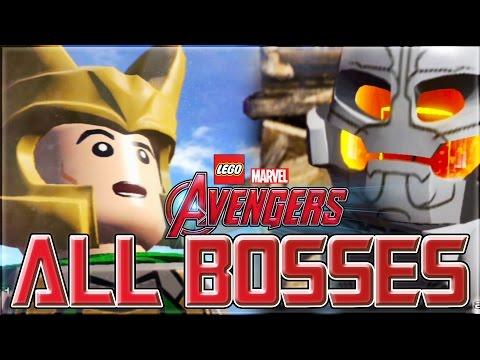 LEGO Marvel's Avengers | All Boss Fights