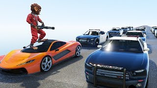 CAN BANDER PLAY GTA 5 WITHOUT BREAKING LAWS!