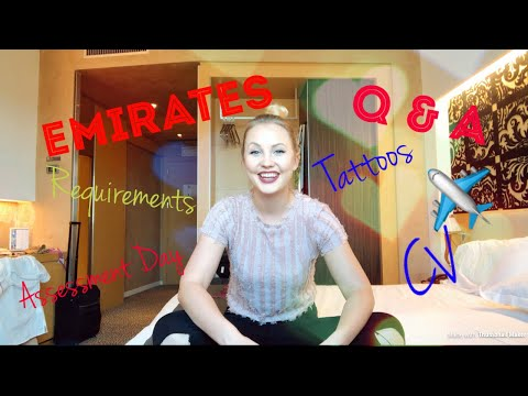 EMIRATES CABIN CREW ASSESSMENT DAY || Q & A | TIPS