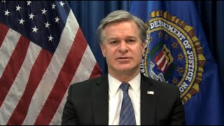 Highlights from Director Wray's Remarks at World Economic Forum Annual Meeting on Cybersecurity