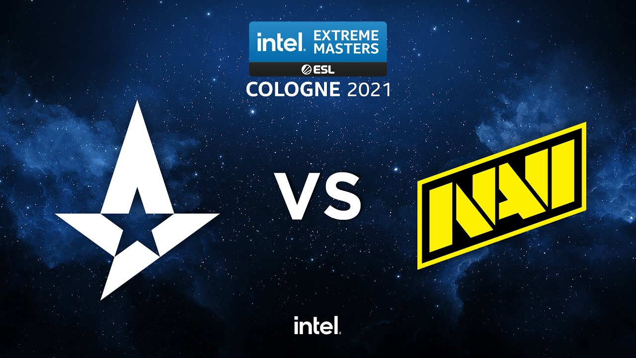 NaVi vs Astralis - MAP 3 - Groupe Stage - IEM Cologne 2021