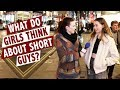 What do girls think about short guys?