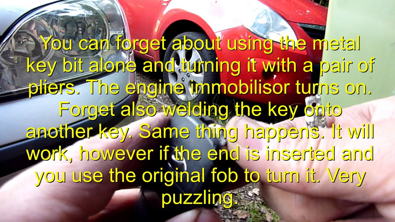 Best Way To Fix A Broken Car Key A Few Ways Attempted Youtube