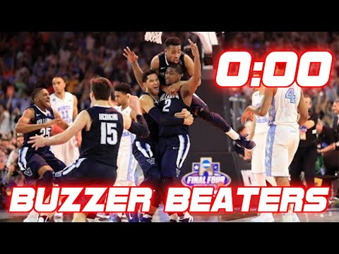 Greatest March Madness Buzzer Beaters of All-Time