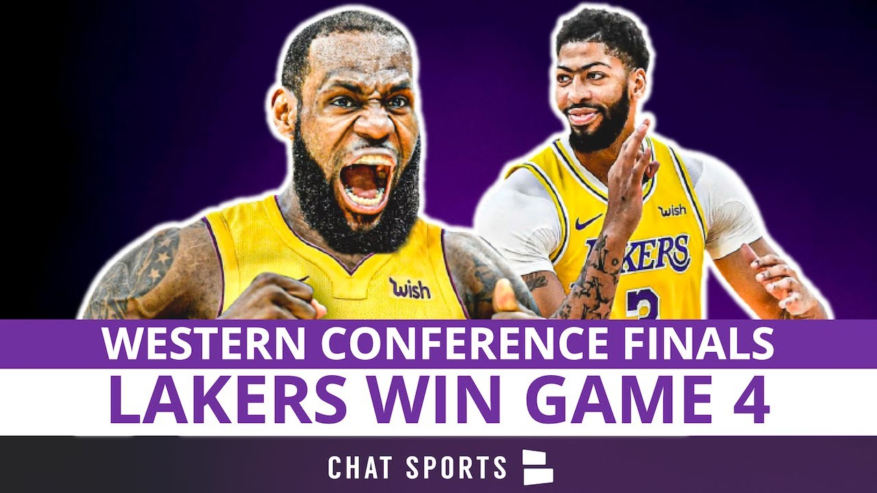 Lakers Win Game 4 vs. Nuggets   Anthony Davis INJURED?   Recap, Box Score, Stats & LIVE Reaction