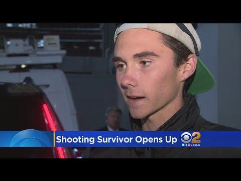 CBSLA Interviews Parkland Shooting Survivor David Hogg