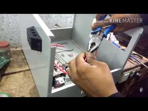 How To Make A Voltage Stabilizer (10 KVA)