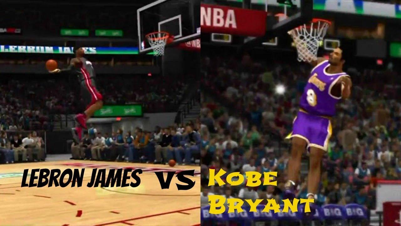 NBA 2K13 All Star Dunk Contest: Kobe Bryant vs LeBron ...