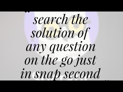 scan question and get answer app | solve by camera,easy Google search
