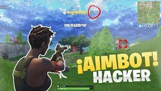 'AIMBOT HACK' en FORTNITE 22 BAJAS con AIMBOT