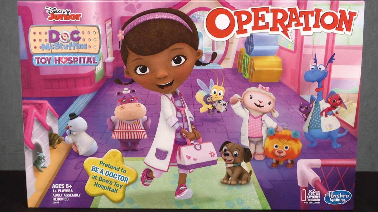 Doc Mcstuffins Toy Hospital Operation From Hasbro Youtube