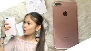 Iphone 7 plus!! Unboxing and More