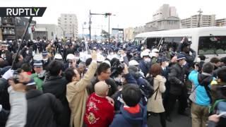 Японцы и корейцы подрались в споре за острова