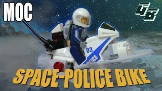 How to build: LEGO Space Police Bike