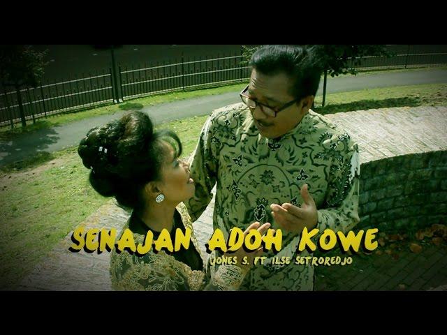 Senajan adoh kowe (official 2014) Jones S. ft. Ilse Setroredjo