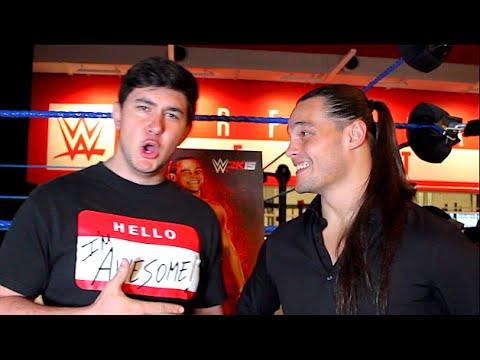 ChampChong vs Bo Dallas!! (WWE 2K15 Interview)
