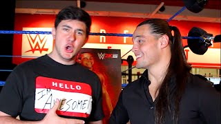 ChampChong vs Bo Dallas!! (WWE 2K15 Interview)