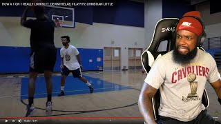 ANOTHER HOOPIEST!  FILAYYY vs DEVINTHELAB 1v1 King Of The Court Basketball!