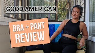 Khloe Kardashian's Activewear Line Good Human Review - Icon sports bra and leggings