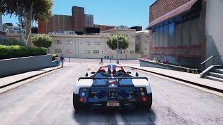 GTA 6 INSANE PAGANI ZONDA REAL LIFE GRAPHICS MOD! GTA 5 REDUX GTA 5 PC GAMEPLAY