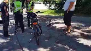 "0512: ""Mitsubishi"" сбил велосипедиста"