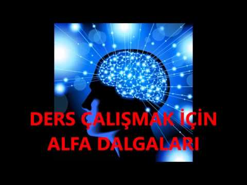 Ders çalışmak için ALFA SES DALGALAI (beyin gelişimi)