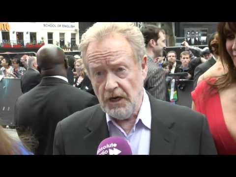 Prometheus premiere: Ridley Scott talks to Absolute Radio
