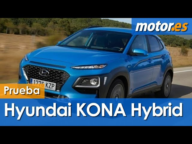 Hyundai Kona Hybrid 2020 | Prueba SUV híbrido