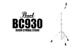 Pearl BC930 Boom/Straight Cymbal Stand