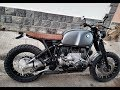 bmw r100 scrambler project
